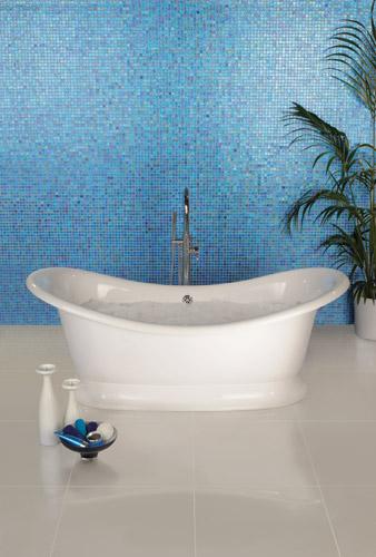 blauw mozaiek badkamer ~ home design ideeën en meubilair inspiraties, Badkamer