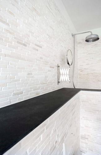 mozaiek badkamer grijs: mozaiek badkamer utrecht: ideeen mozaiek u, Badkamer