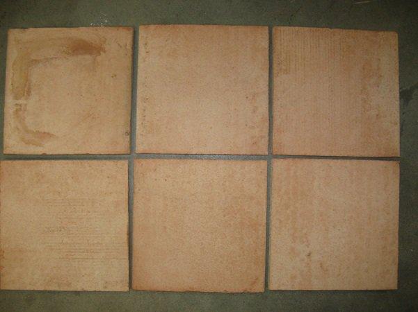 Vloertegel Sannini Fornace terra cotta 250x250x16mm onbehandeld   Z Tiles