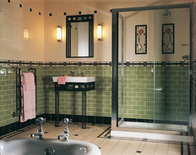 Vloertegels In Badkamer ~ Original Style wandtegels en vloertegels, toegepast in de badkamer