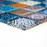 HUH XCM 8OP2 crystal glas mozaïek patchwork