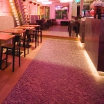 Venetian Floors natuursteen mozaiek, restaurant / bar