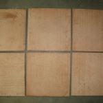 Vloertegel Sannini Fornace terra cotta 250x250x16mm onbehandeld-2