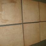 Vloertegel Sannini Fornace terra cotta 250x250x16mm onbehandeld