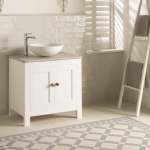 Original Style - VFT - Falkirk pattern in Dover White and Grey with Winchester Porcelain Arcadian wall tiles_2
