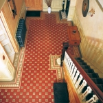 Original style vloertegels, Victoriaanse-stijl met arundel patroon