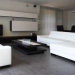 Land Porcelanico vloertegels, rechthoekig grote afmeting, impressie woonkamer