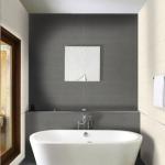 Land Porcelanico wandtegels en vloertegels, langwerpig grote afmeting, impressie badkamer